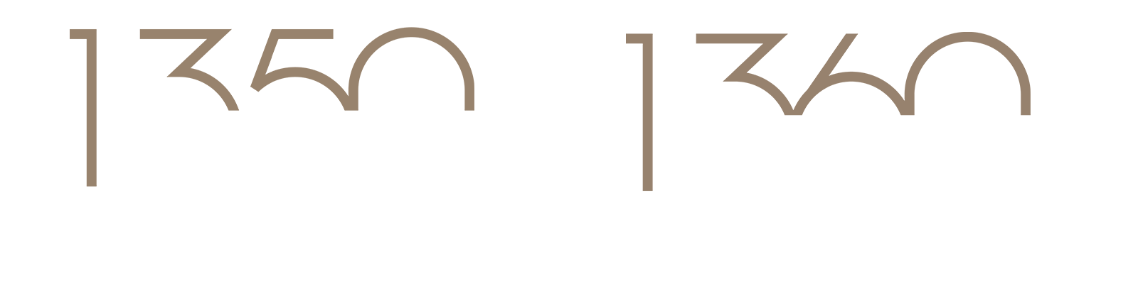 The 1350-1360 Lake Shore Drive logo.